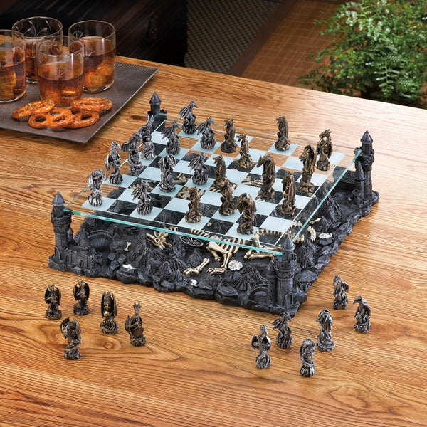 Dragon Castle Chess Set