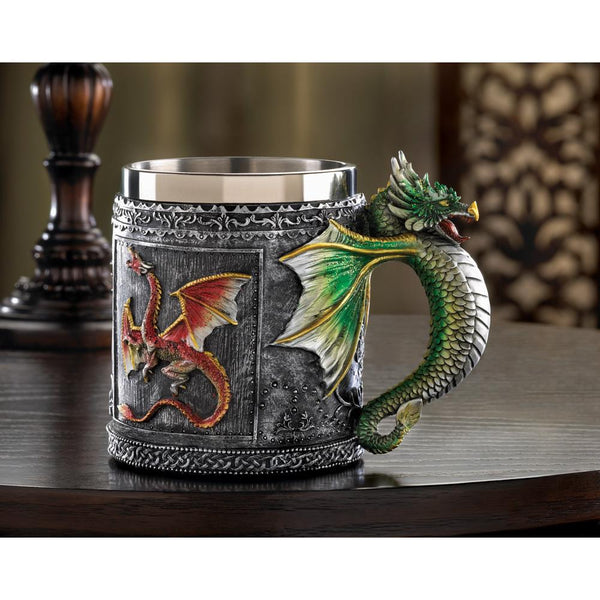 Fearsome Dragon Mug
