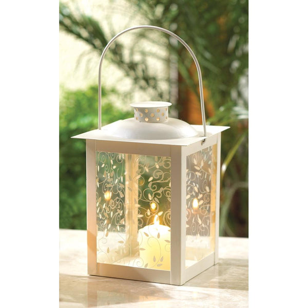 Ancient Fashioned White Lantern