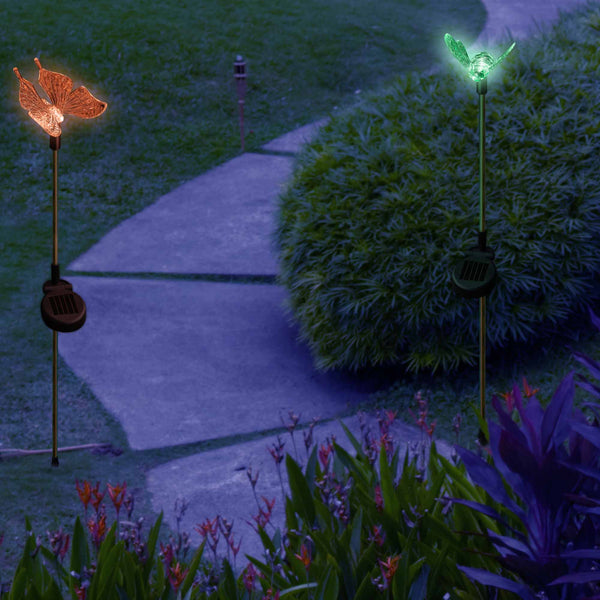 Butterfly Bumble Bee Solar Garden Decoration Lights My Dream Palace