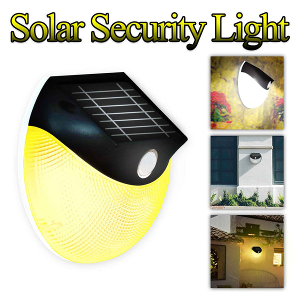 Solar Motion Light Outdoor Wireless Security Wall Light
