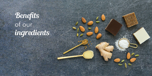 Benefits of our ingredients - Unique Ayurvedic herbs & holistic nutritional support