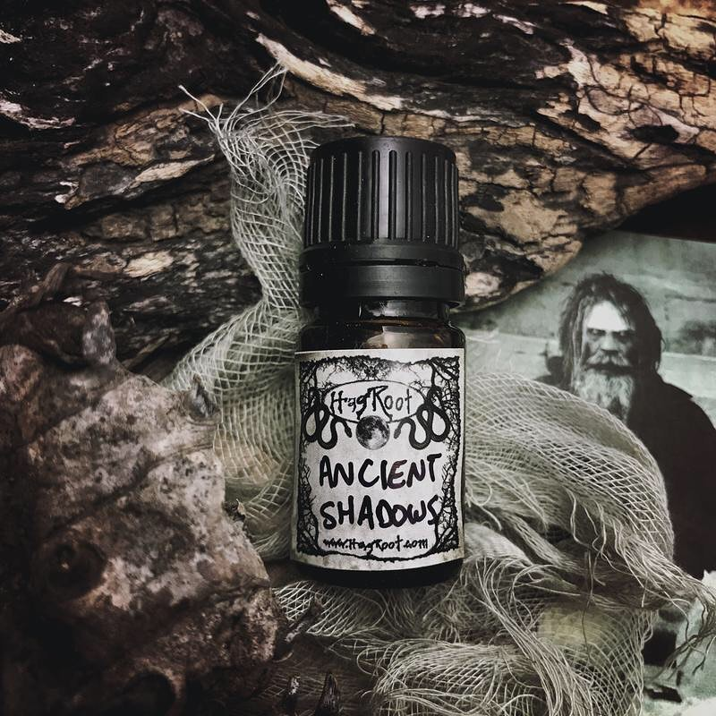 ANCIENT SHADOWS-(Cedar, Smoked Woods, Black Tea Leaves, Leather, Amber, Vanilla)-Perfume, Cologne, Anointing, Ritual Oil