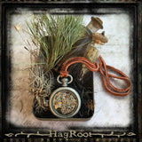 SNAKE HEALER- Natural Handmade Necklace- Transformation, Death and Rebirth, Healing, Dream Recall