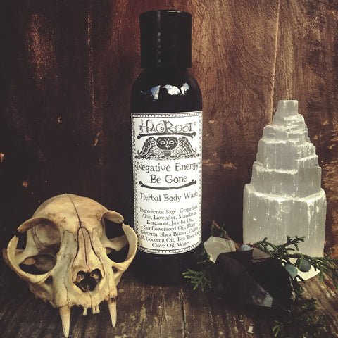 Negative Energy Be Gone - Herbal Body Wash