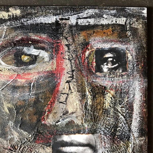 BECOME WHOLE - Original Mixed Media Canvas
