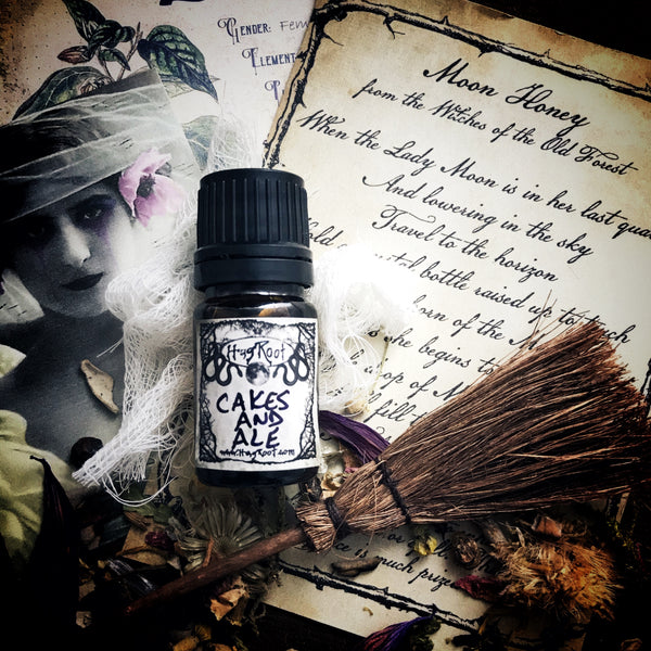 CAKES AND ALE-(Vanilla Cake, Dark Ale, Ritual Smoke)-FALL 2020 EDITION-Perfume, Cologne, Anointing, Ritual Oil