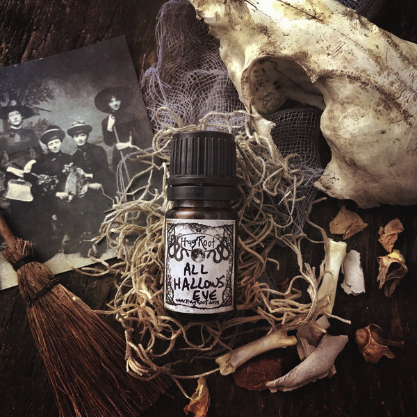 ALL HALLOWS EVE-(Fallen Leaves, Dark Cocoa, Patchouli, Pumpkin, Oakmoss)-FALL 2020 EDITION-Perfume, Cologne, Anointing, Ritual Oil