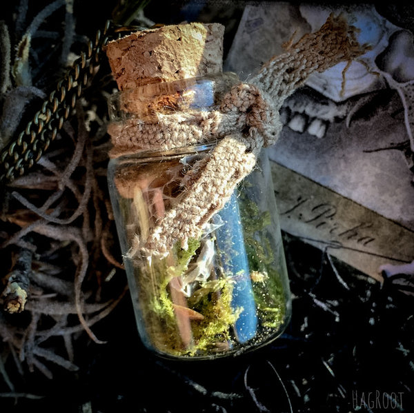 SNAKE GODDESS MEDICINE- Natural Handmade Necklace- Transformation, Death and Rebirth, Healing, Dream Recall