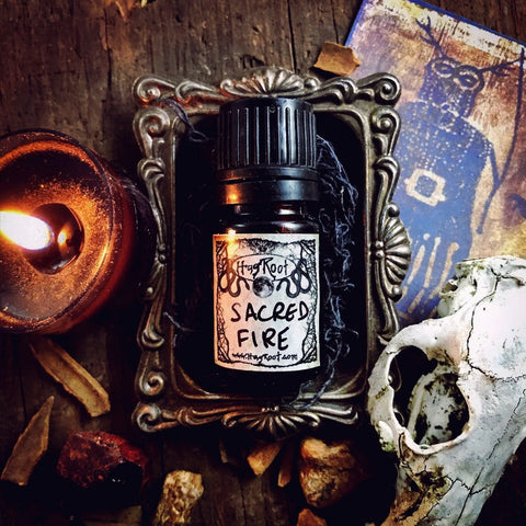 SACRED FIRE-(Smoked Wood, Rich Spices, Dark Florals)