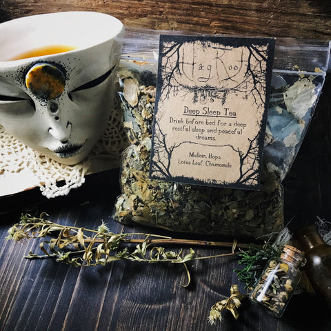 Deep Sleep Tea - Loose Leaf Herbal Tea