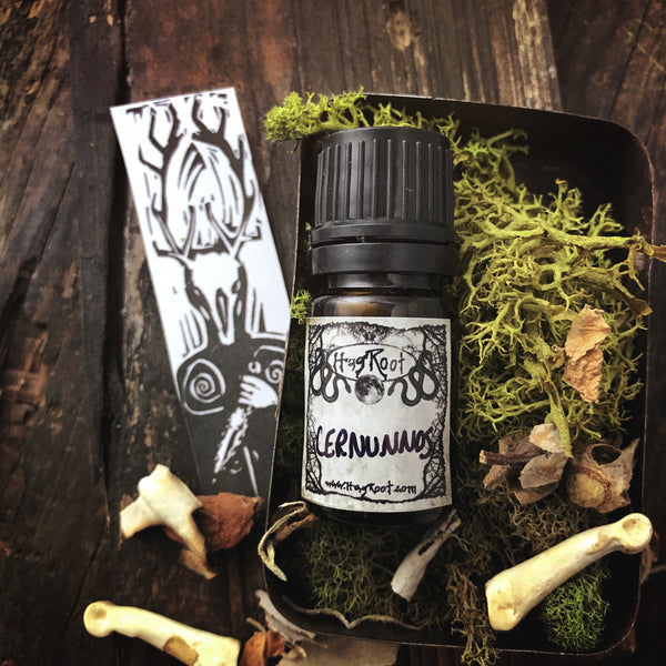 CERNUNNOS-(Pine, Mahogany, Grass, Oakmoss)-FALL 2020 EDITION-Perfume, Cologne, Anointing, Ritual Oil