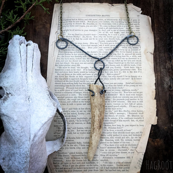 Antler Necklace for Connection to the Spirit of the Forest