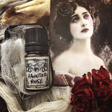 HAUNTED ROSE-(Rose, Leather, Cinnamon, Patchouli, Champaca Flowers)-Perfume, Cologne, Anointing, Ritual Oil