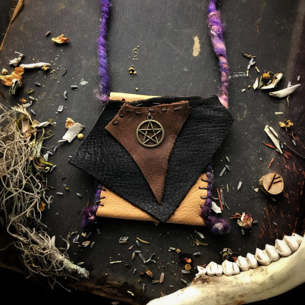 Scavenger Witch Medicine Bag