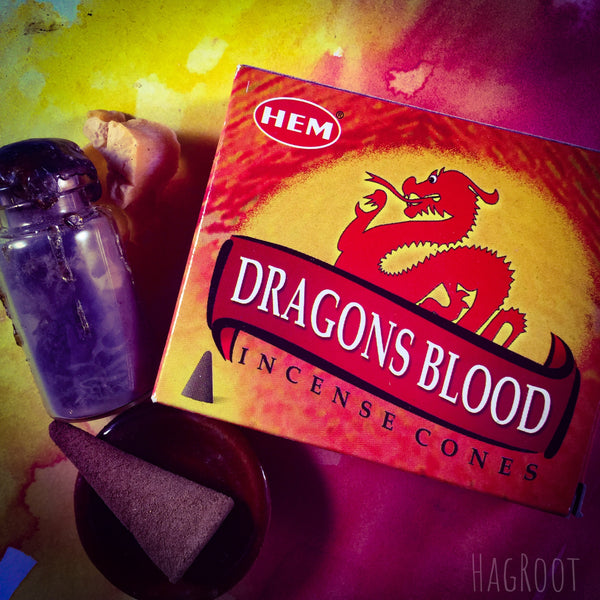Dragons Blood Incense Cones - 10 Cones