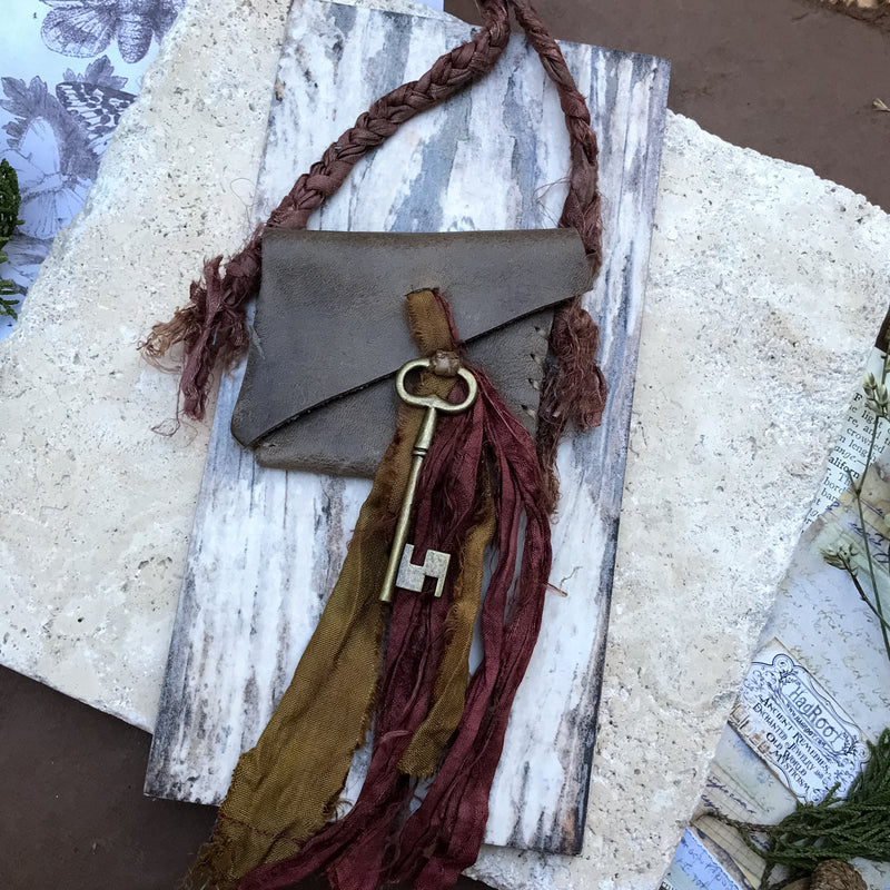 Wandering Soul Medicine Bag for the Nomadic & Wild Hearted