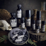 THANATOS-(Leather, Graveyard Dirt, Smoked Woods, Tobacco, Dark Spices)-Perfume, Cologne, Anointing, Ritual Oil