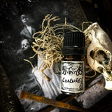 CONJURE-(Ginger, Nutmeg, Patchouli, Jasmine, Cocoa, Amber, Heliotrope, Allspice, Clove, Cedarwood, Moss, Vanilla, Sandalwood)-Perfume, Cologne, Anointing, Ritual Oil