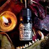 DRAGON FIRE-(Dragon's Blood, Charred Wood, Musk)-Perfume, Cologne, Anointing, Ritual Oil
