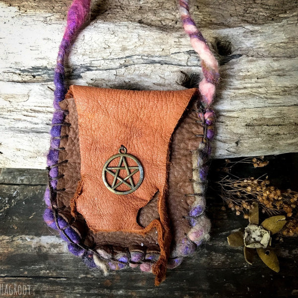Peaceful Witch Medicine Bag for Protection, Peace and Clarity
