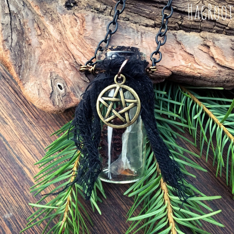 Ancient Witch Necklace - Remember and Embrace Who You Are