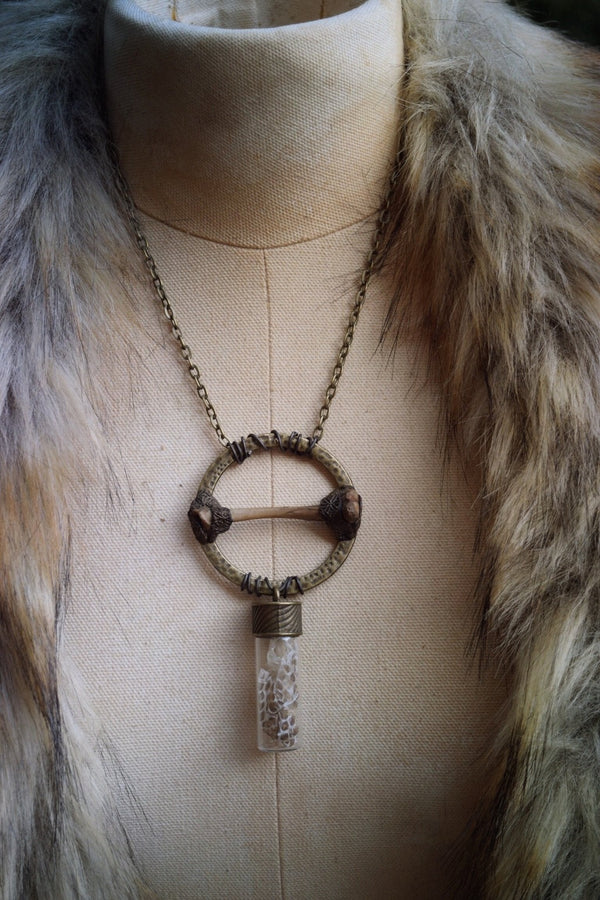 Inanna Necklace for Love, Courage  and Rebirth