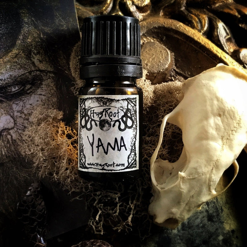 YAMA-(Smoky Evergreens, Leather, Patchouli, Frankincense, Bergamot, Musk)-Perfume, Cologne, Anointing, Ritual Oil