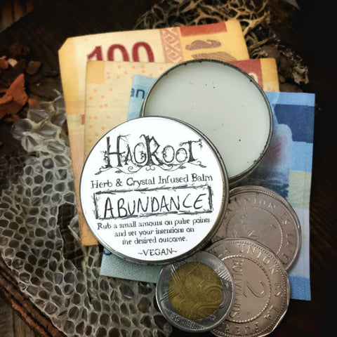 ABUNDANCE - Crystal and Herb Infused Balm