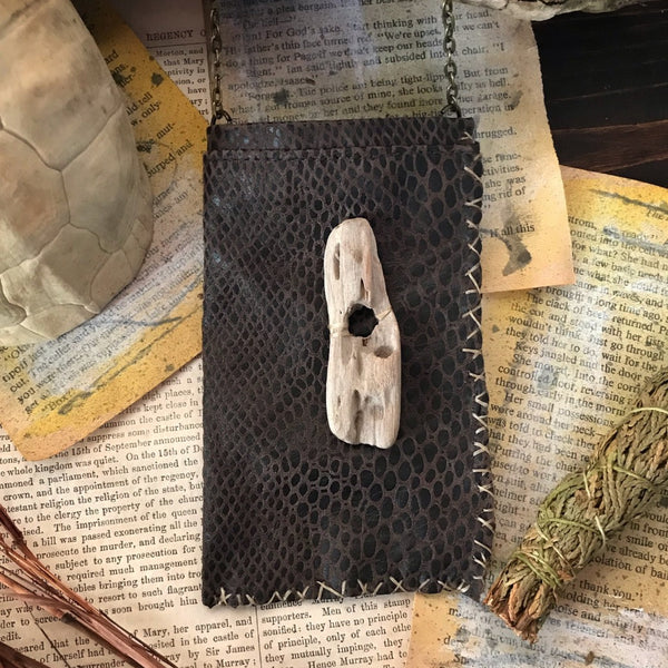 Turtle Spirit Medicine Bag