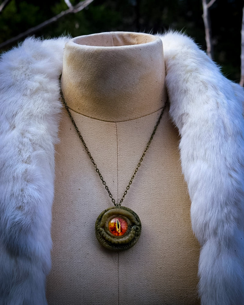 Fire Dragon Necklace for Creativity and Personal Power