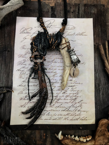 Baba Yaga Necklace - For Wild, Natural Wisdom