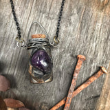 Medicine Vessel Necklace for Self Love, Happiness and Inner Strength