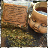 Morning Sickness Tea-(Ginger, Peppermint, Lemon Balm, Chamomile, Raspberry Leaf, Orange Peel)-Herbal Pregnancy Tea