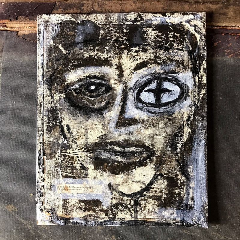 VOID - Original Mixed Media Canvas