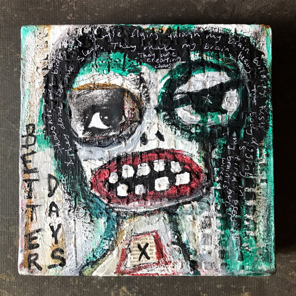 BETTER DAYS - Original Mixed Media Canvas