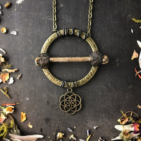 Seed of Life Necklace for Cosmic Consciousness