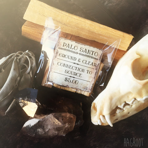 PALO SANTO- Holy Wood-Incense-Smudge Sticks-Sacred Wood-Purification