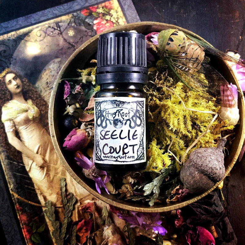 SEELIE COURT-(Raspberry, Amber, Bay Leaf, Lemon, Lavender, Fig, Agar Wood, Patchouli, Musk)-Perfume, Cologne, Anointing, Ritual Oil