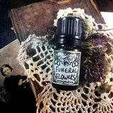 FUNERAL FLOWERS-(Rose, Lilac, Magnolia, Patchouli, Dirt)-Perfume, Cologne, Anointing, Ritual Oil