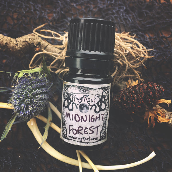 MIDNIGHT FOREST-(Fern, Jasmine, Orris, Lemongrass, Vanilla, Sandalwood, Birch Tar, Leather, Cedar, Oakmoss, Clary Sage, Eucalyptus)