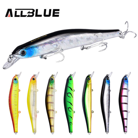 Amazing Quality Fishing Wobblers. 17.5g/110mm  With 6# Size Hook. ALLBLUE