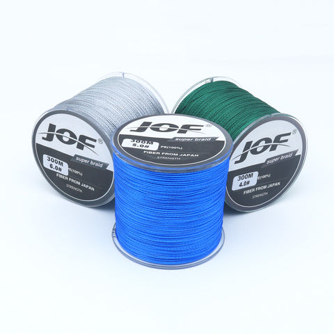 984' Feet 4 stand Braided Fishing Line 10-100LB. Multifilament Superior Strength Line! BULK Savings!