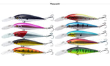 4 Inch 10.5g Minnow Crankbait with Size 6# Hook & 3D Eyes