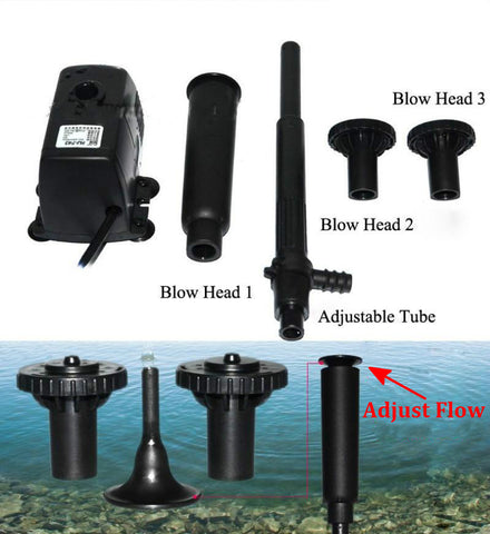 Submersible Fountain Pump for Small Pond, Aquarium, Fish Tank
