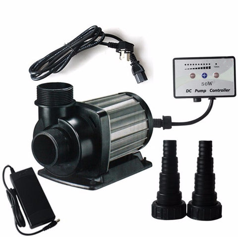 DC Powered Submersible Pump for Solar, Wind, Battery Backup Power 4,000, 6,000, 8,000, 12,000 LPH High Flow