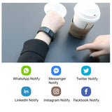 Smart Watch  Bracelet Wristband Bluetooth Heart Rate Message Reminder Sleep Monitoring For IOS Android phone
