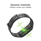 Smart Wristband Color Screen Fitness Bracelet Waterproof Sport Tracker Pedometer Blood Pressure Oxygen Heart Rate Monitor Watch