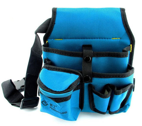 High quality blue with black tool bag electrician 600D desity NO.104