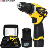 Battery Capacity Drill 12v 1.5Ah  Mini Cordless Drill Power Tools Electric Screwdriver Electric Drill Batteries Screwdriver